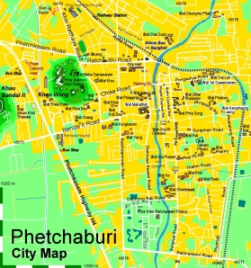 phetchaburi map