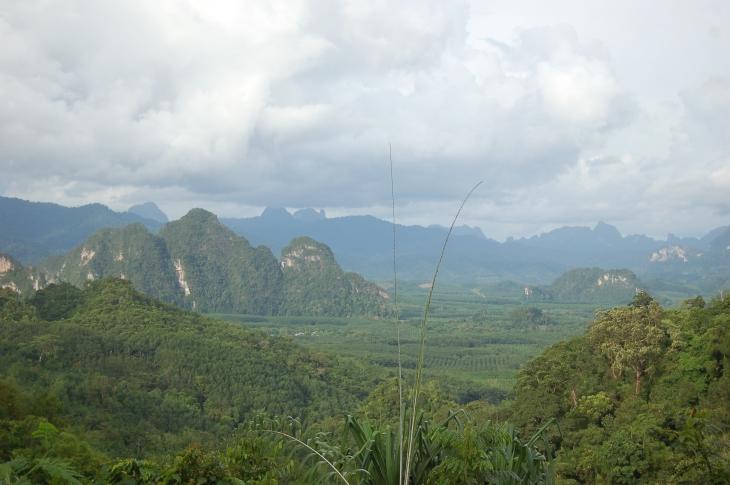 Вид на Национальный парк Као Сок