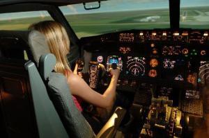 Попробуй себя в качестве пилота самолета!